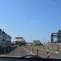 Керченская паромная переправа: 30-ти минутная морская прогулка