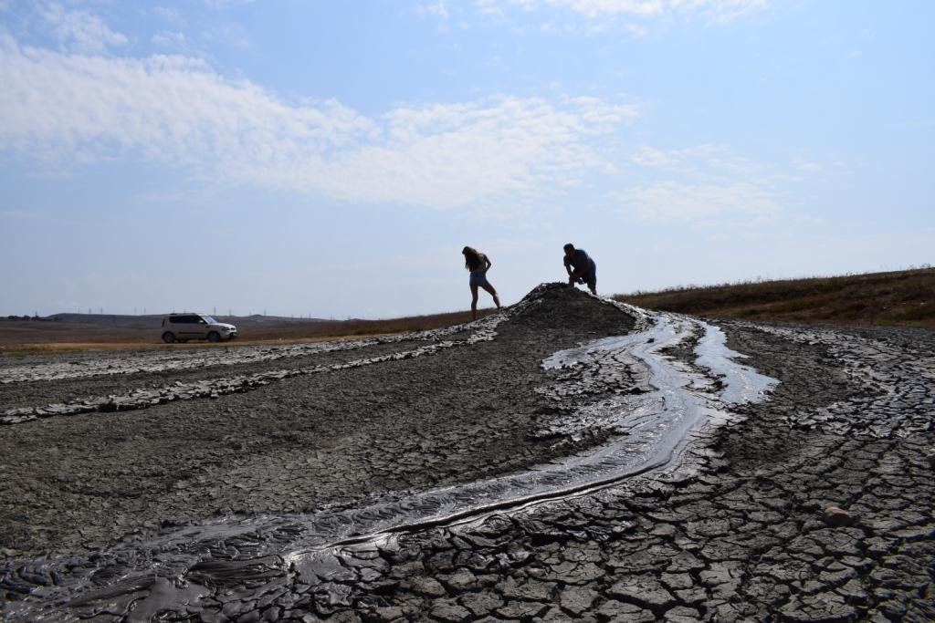грязевые вулканы керчь