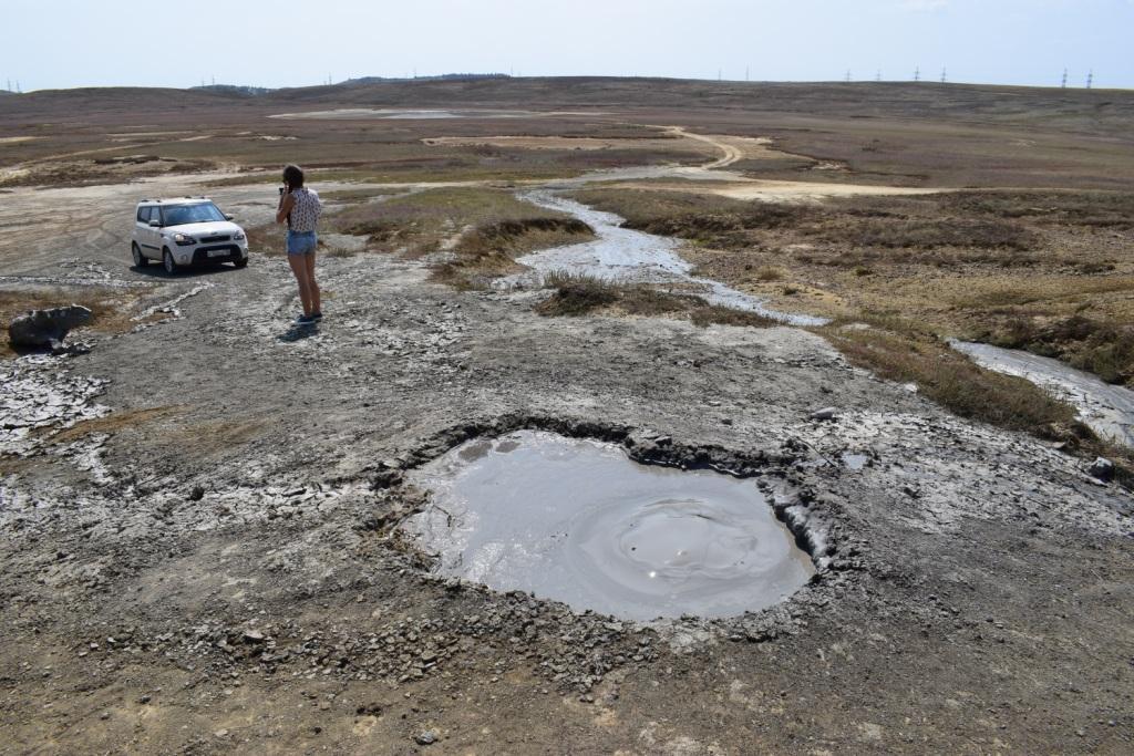 грязевые вулканы керчь крым