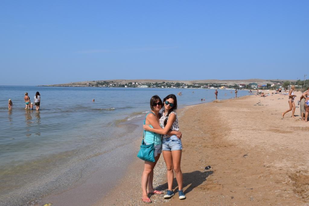 мысовое песчаный пляж