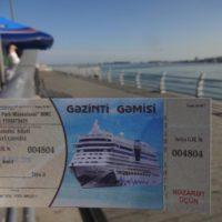Баку: морская прогулка по Каспию