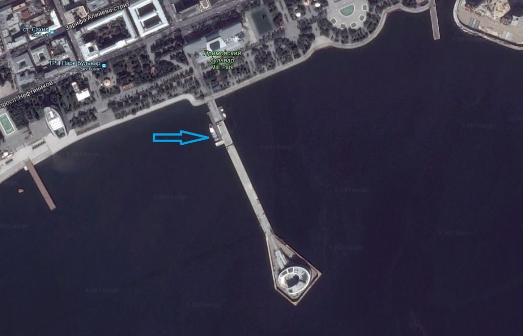 морская прогулка баку