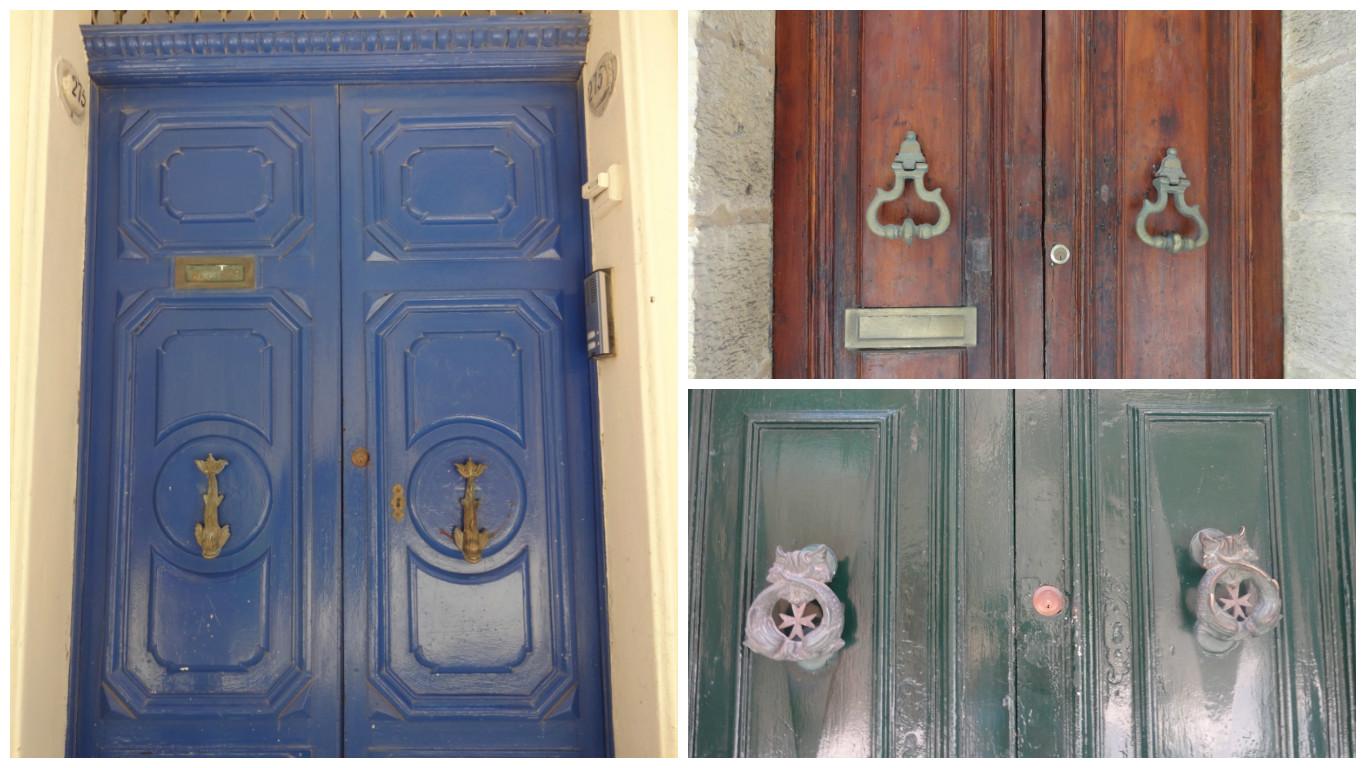 двери домов в валетте