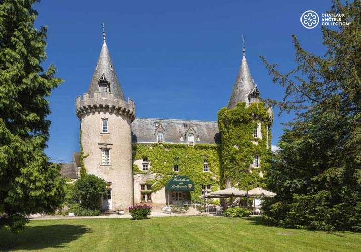 свадьба в замке Château de Bellecroix