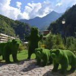Красная Поляна — описание курорта, достопримечательности, канатные дороги