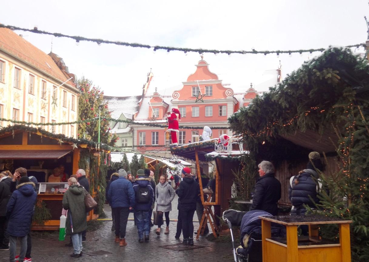 мемминген рождественский базар