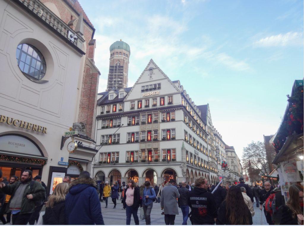 мюнхен рождество