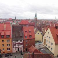 Рождественская ярмарка в Нюрнберге и прогулка по городу