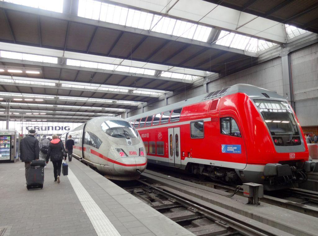 поезда германии