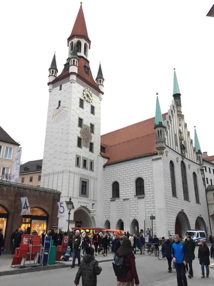 старая ратуша мюнхен