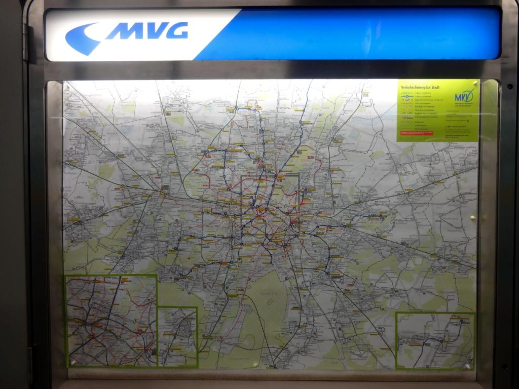общая карта транспорта мюнхена