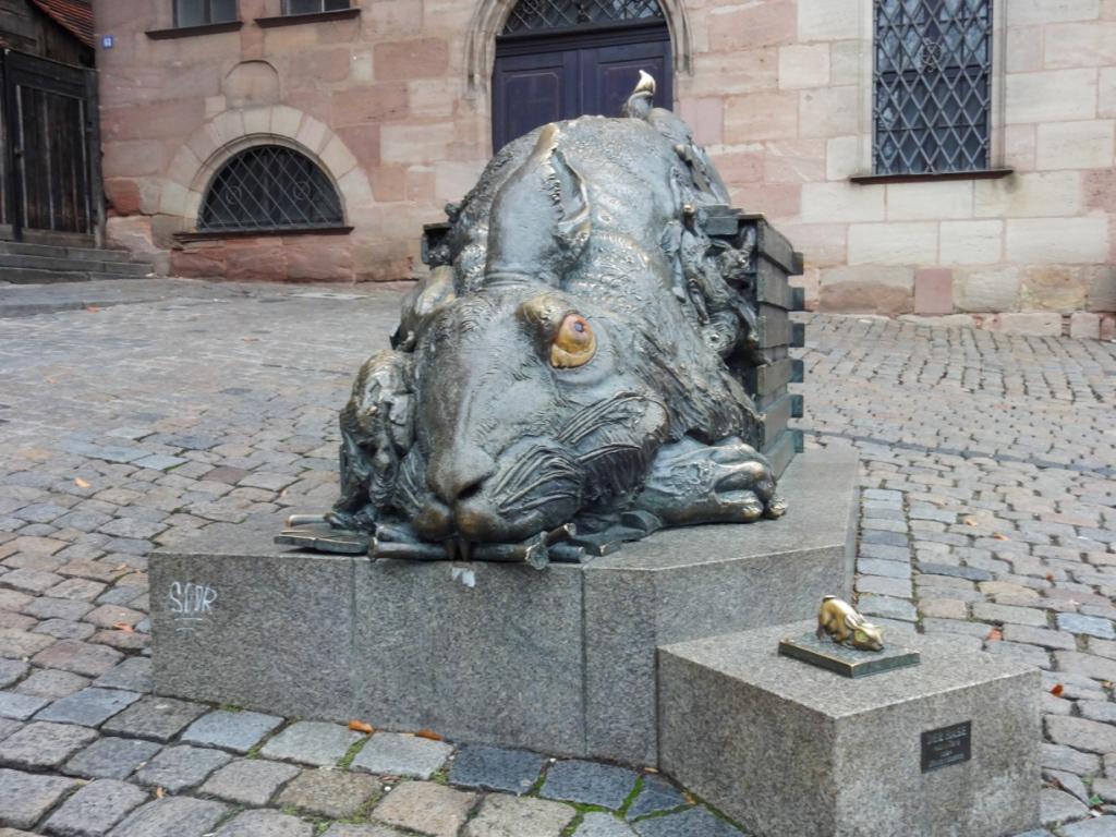 кролик в Нюрнберге