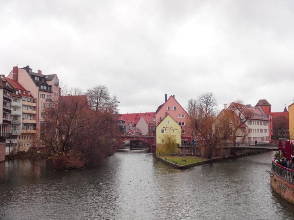 нюрнберг река пегниц