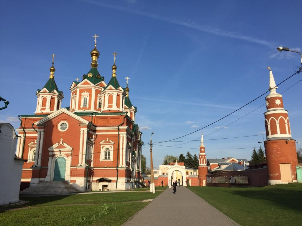 коломна брусенский монастырь