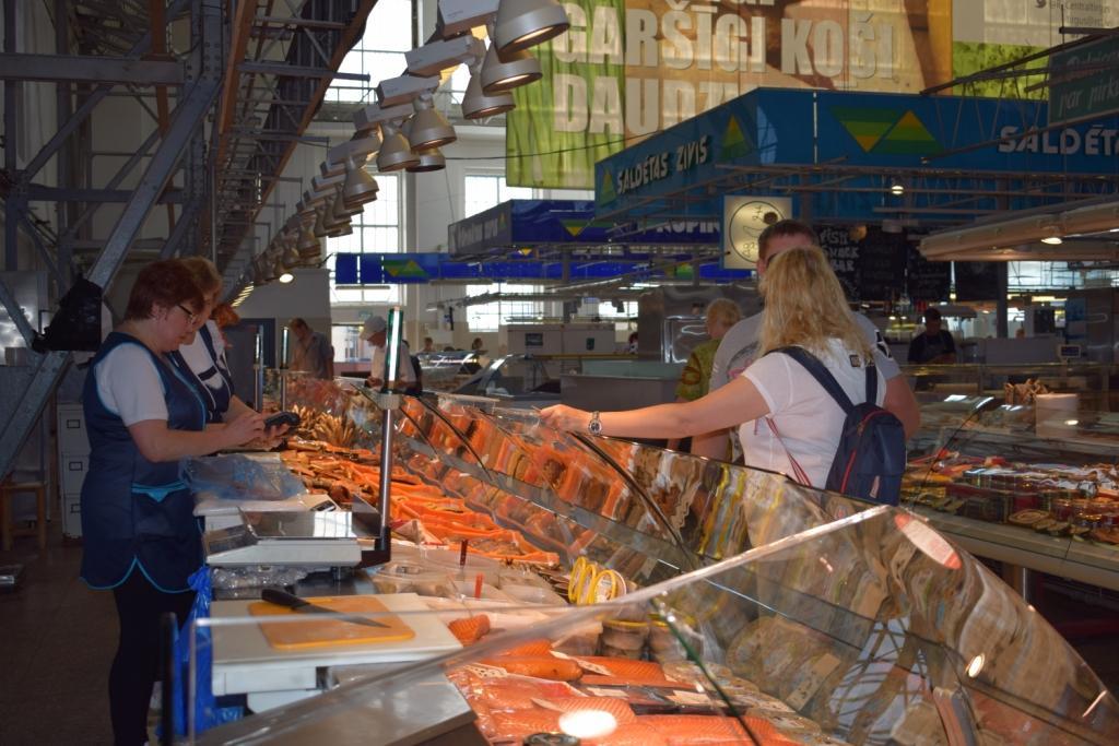 центральный рынок в риге