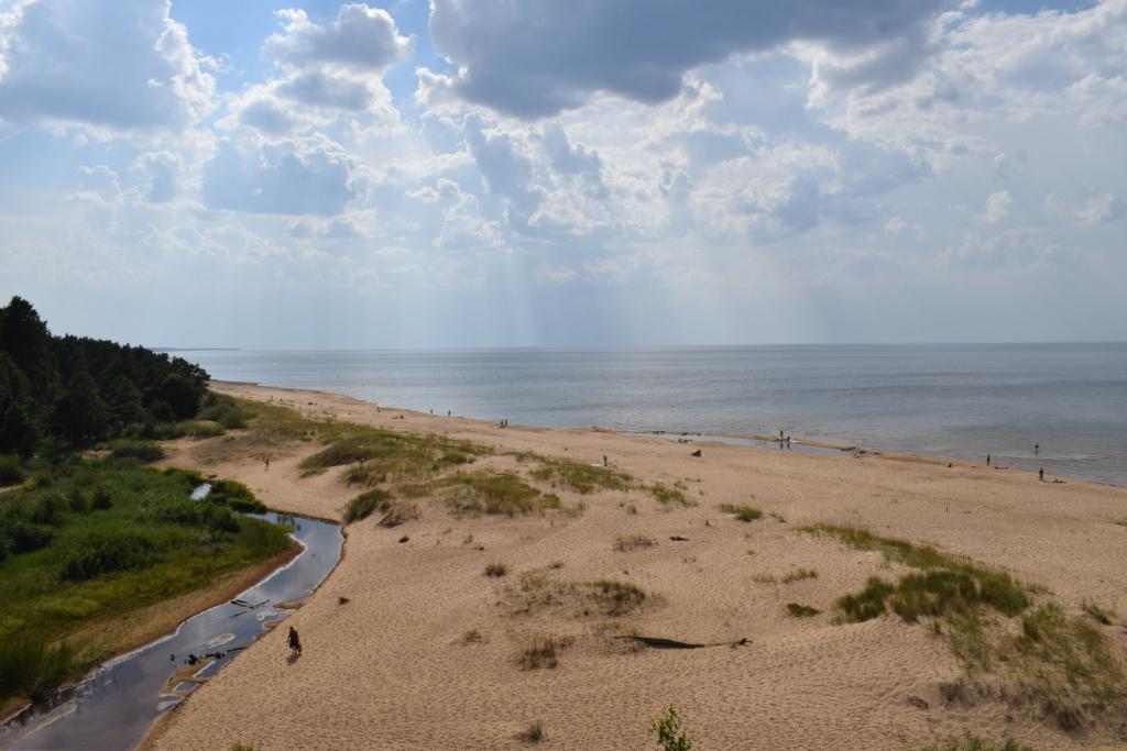 белая дюна в саулкрасты латвия