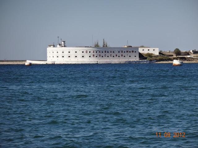 форт в севастопольской бухте