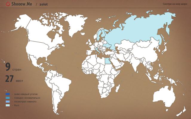 Ресурс по созданию карт путешествий
