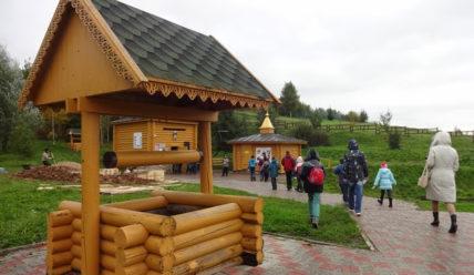 Святой источник в Сартаково. Нижегородская область.
