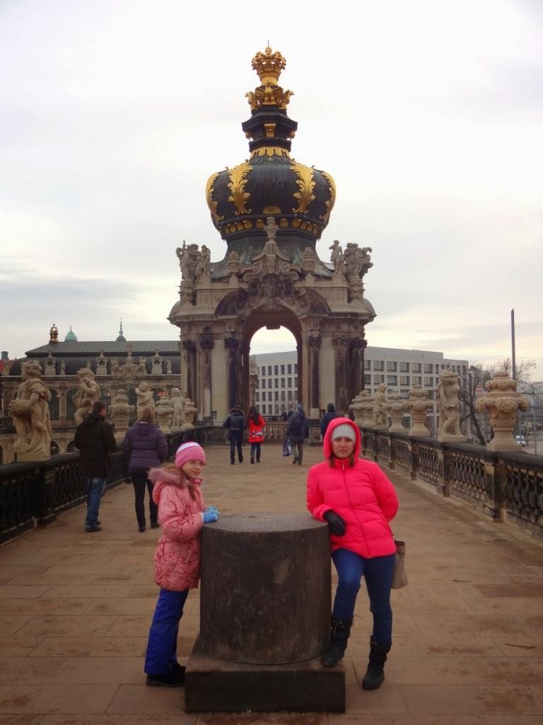 дворцовый ансамбль - Цвингер
