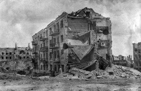 место бомбежки волгоград