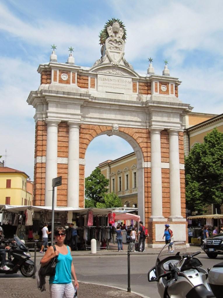 арка ганганели Сантарканджело