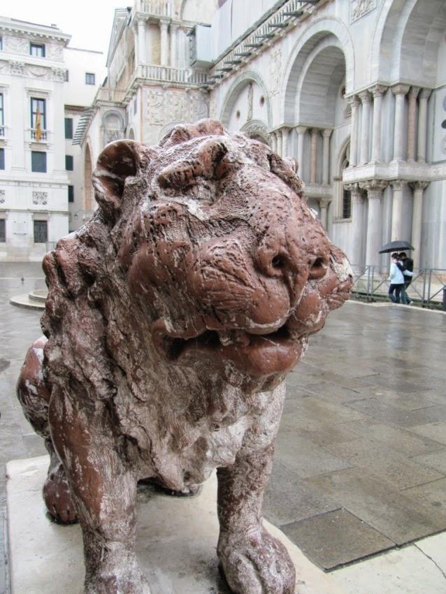 лев в Венеции