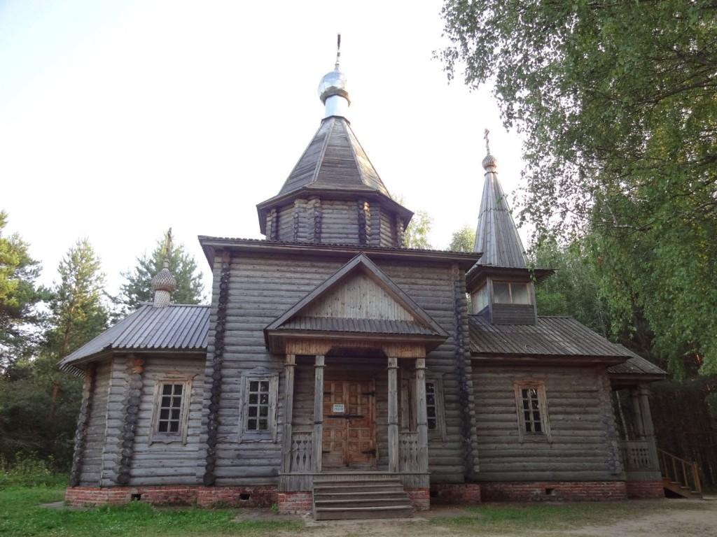 деревянная церковь на светлояре