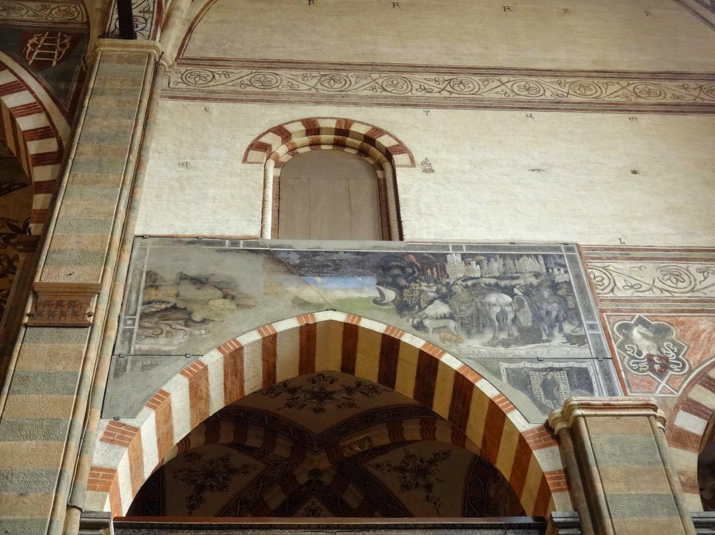 фреска пизанелло верона