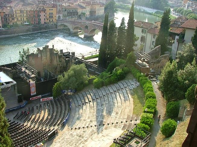 римский театр верона