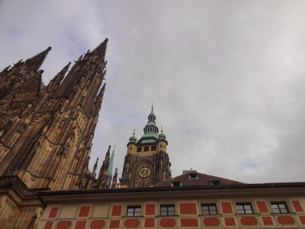 часы собора святого вита прага
