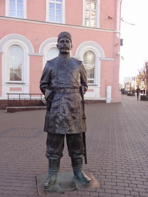 скульптура городовой нижний новгород