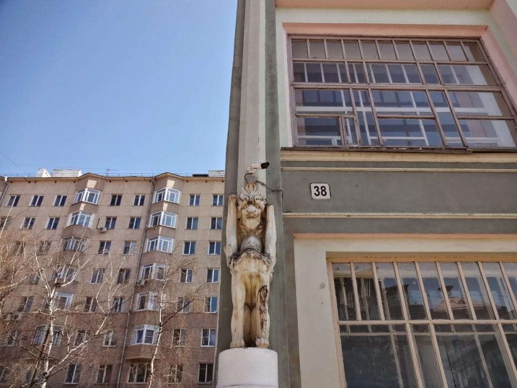 доходный дом О. Камневой. большая покровская