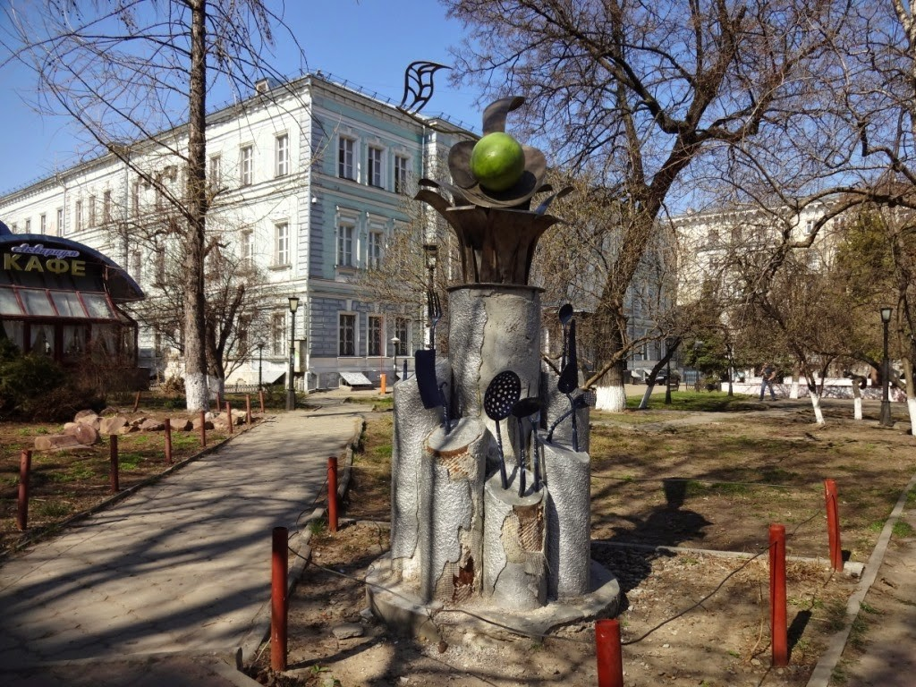 скульптура с оливкой Большая покровская