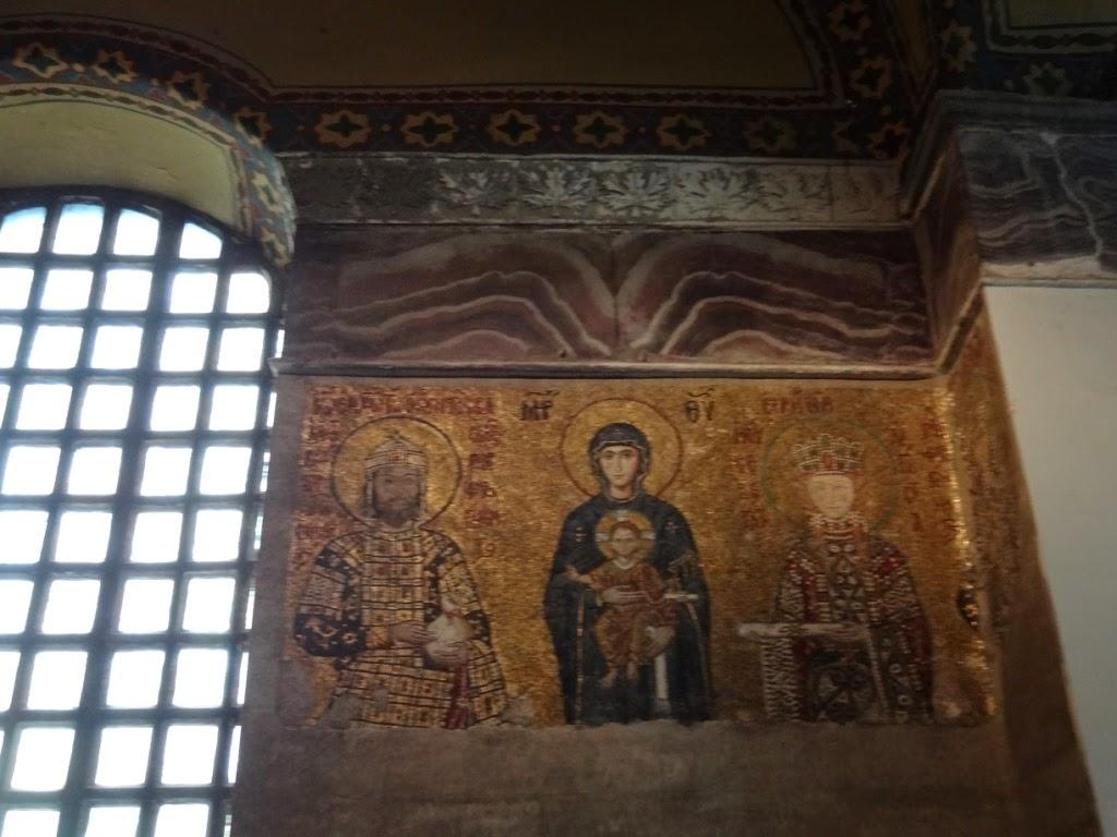 Айя софия стамбул фреска