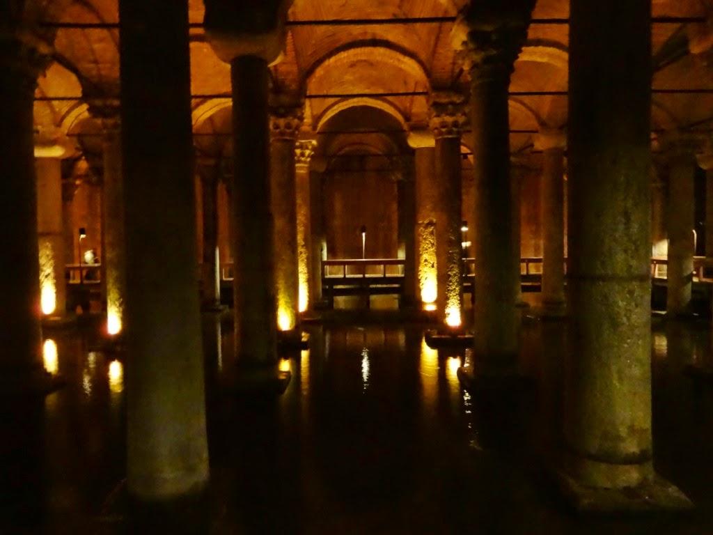 цистерна базилика стамбул