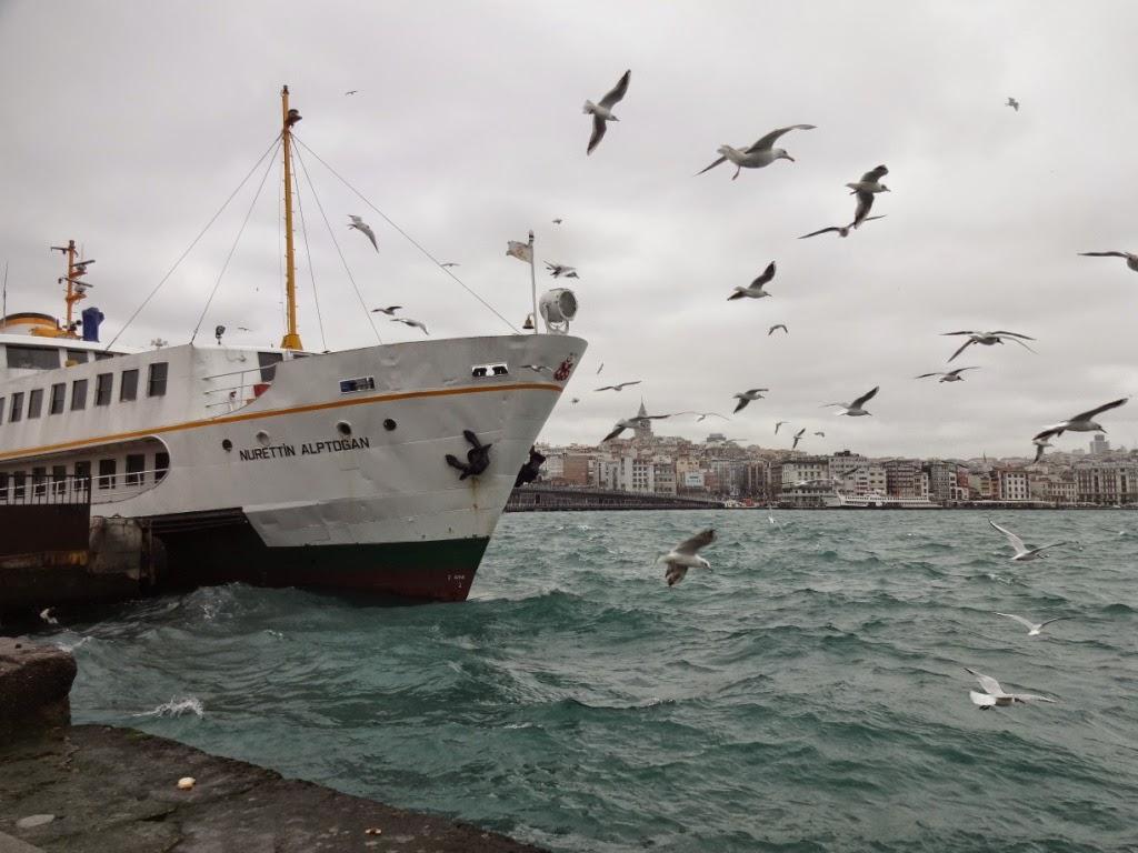 стамбул морская прогулка