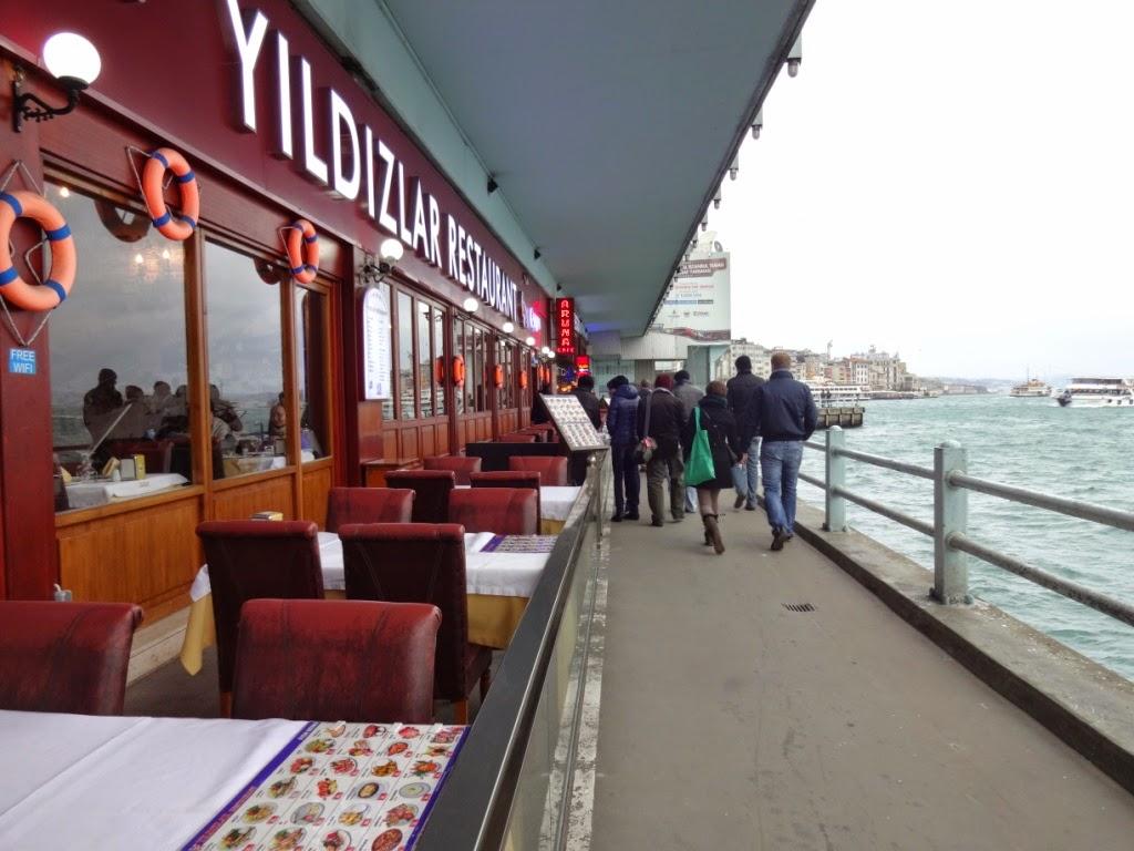 галатский мост рестораны