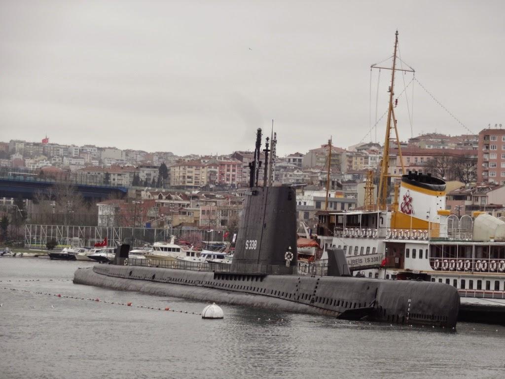 подводная лодка стамбул