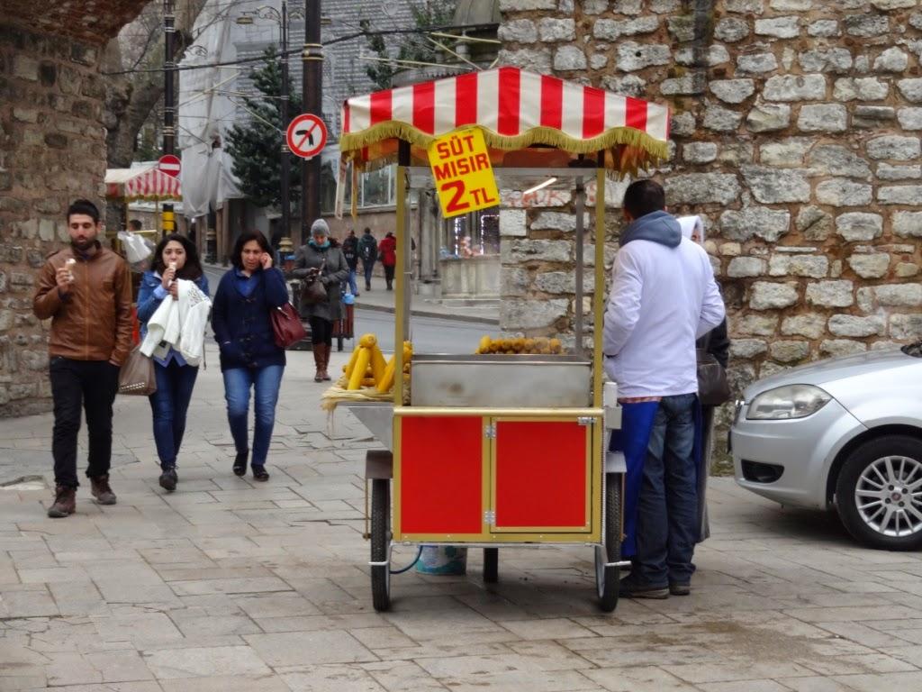 уличная еда стамбул