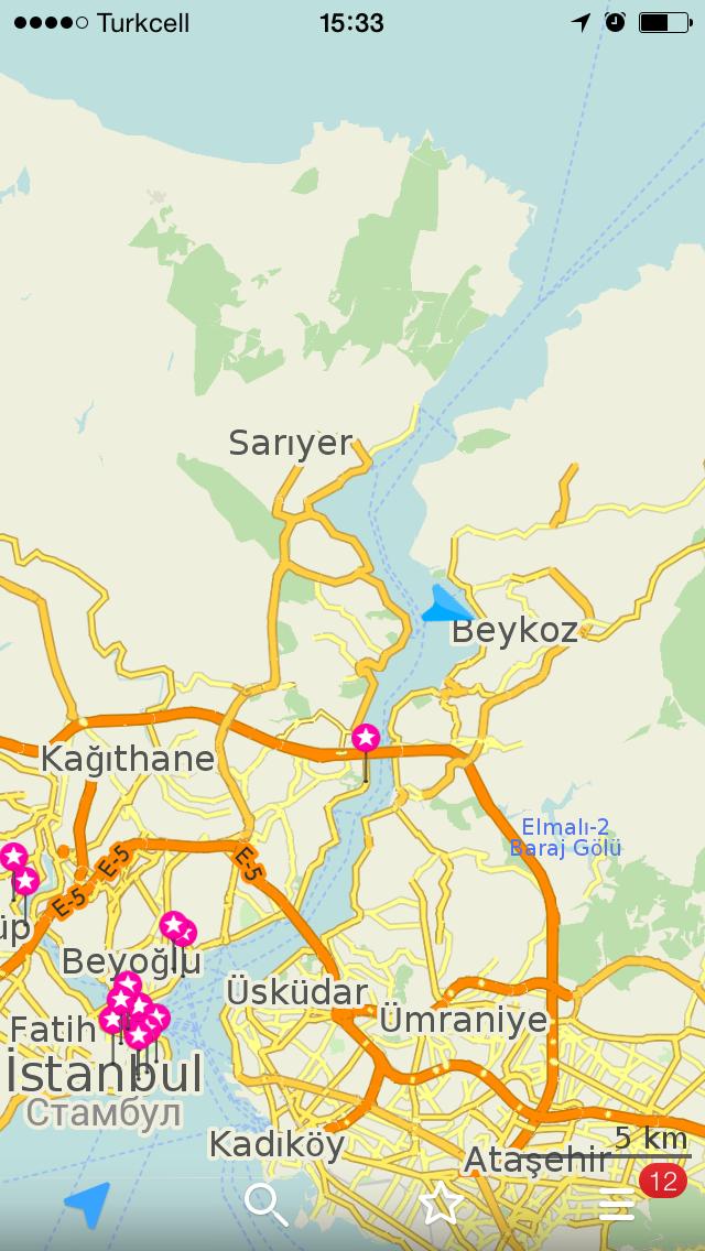маршрут морской прогулки стамбул