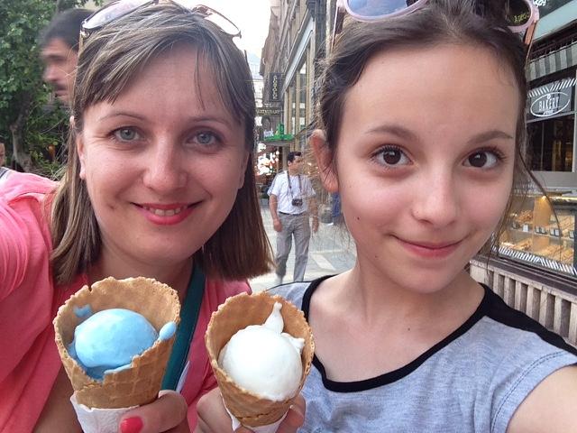 Мороженое Будапешт