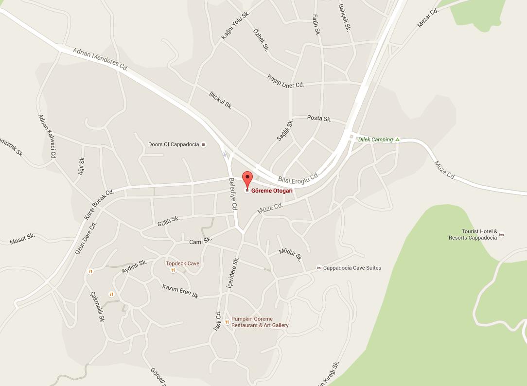 Карта памуккале автостанция
