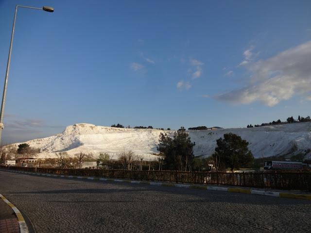 Памуккале белая гора