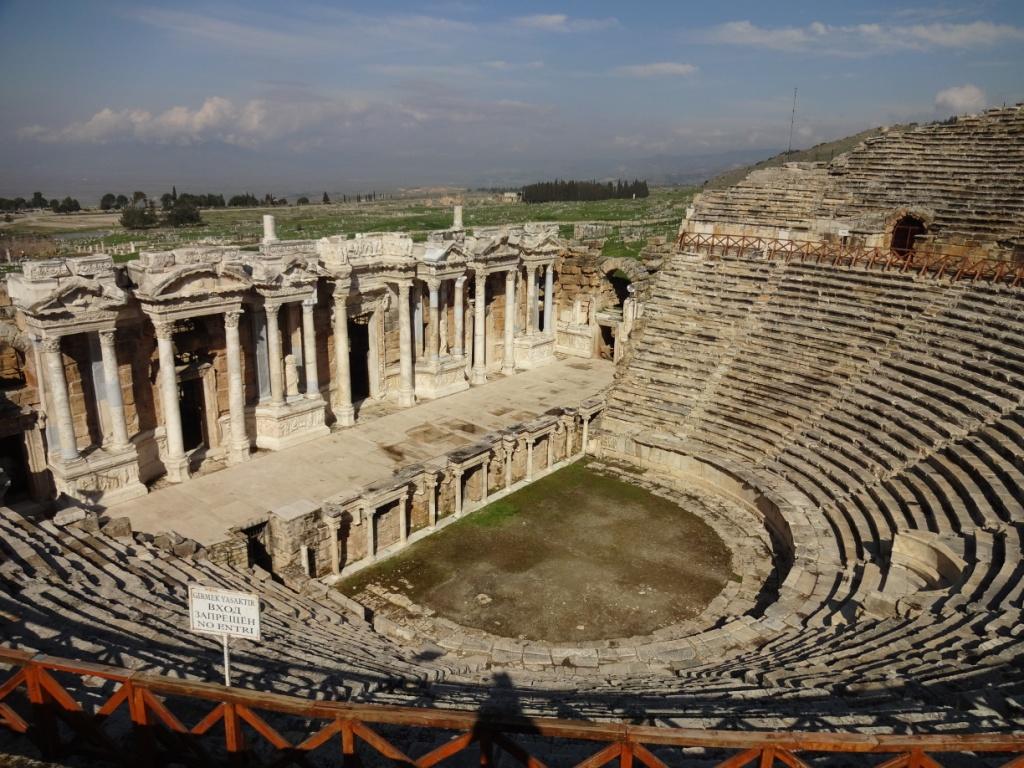 античный театр иераполис