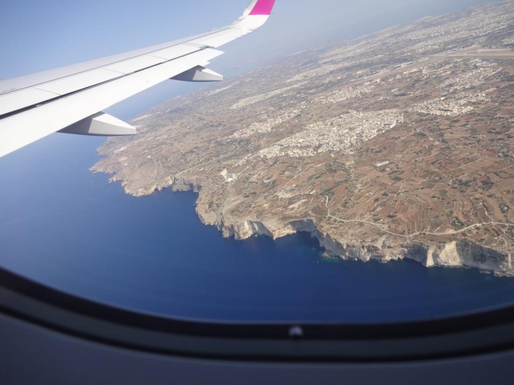 мальта из самолета