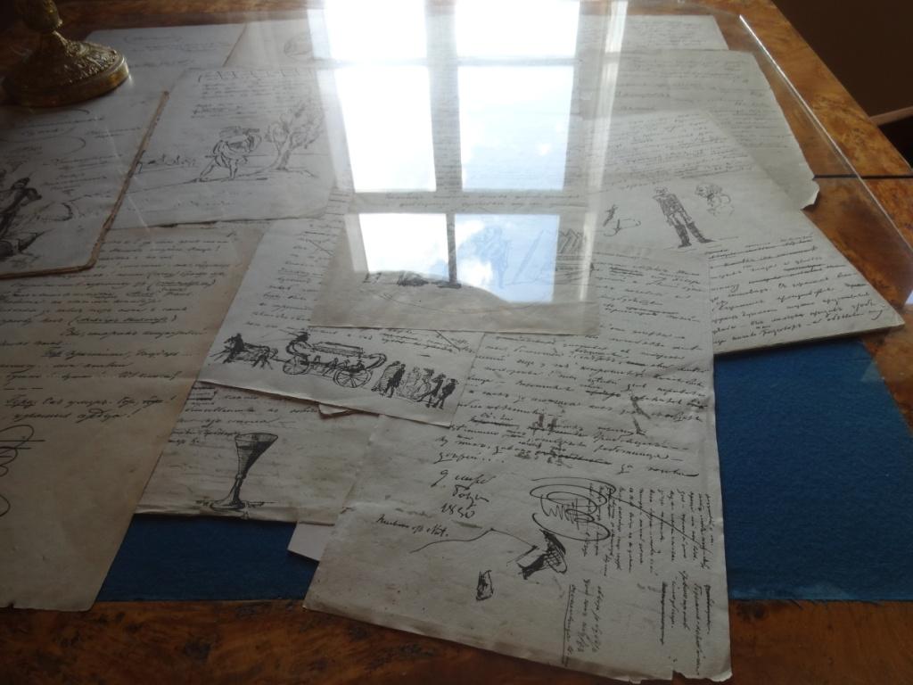 рукописи пушкина