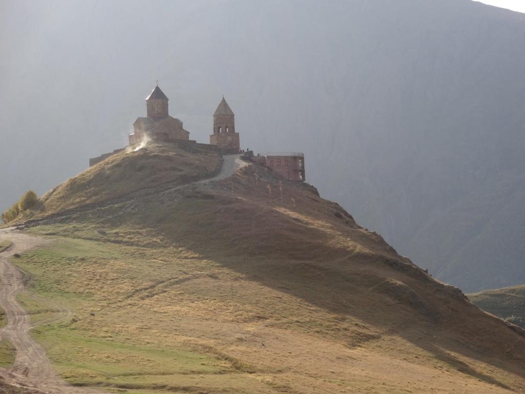 Церковь гергети грузия