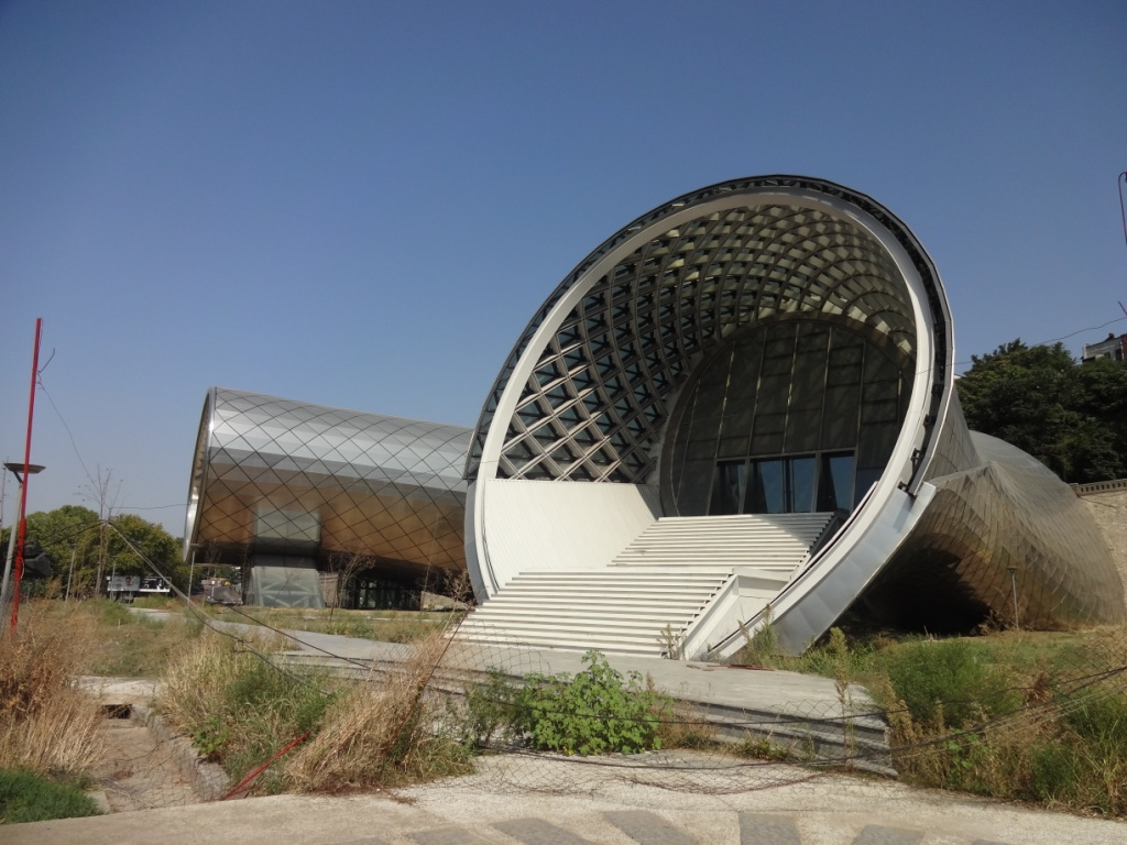 труба парк рике тбилиси
