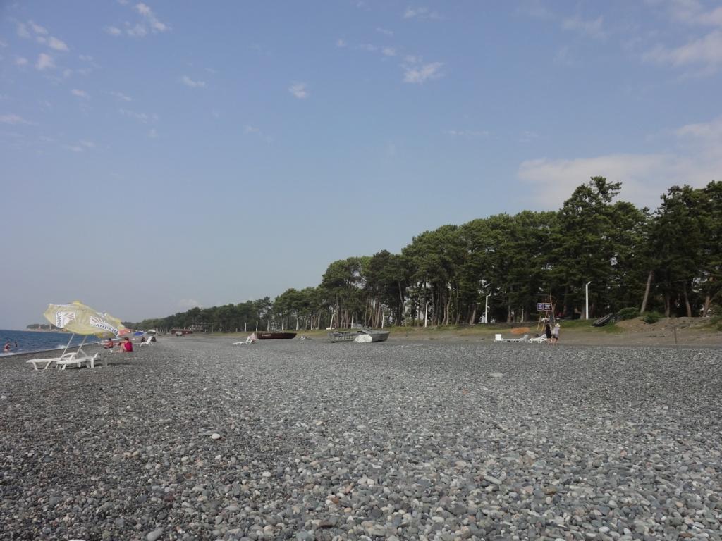 кобулети пляж